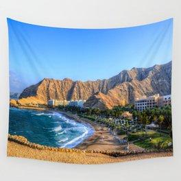 Shangri la resort Muscat Oman Wall Tapestry