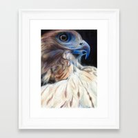 ruby Framed Art Prints featuring Ruby by E.C. Ellison