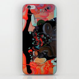 MALE GAZE iPhone Skin