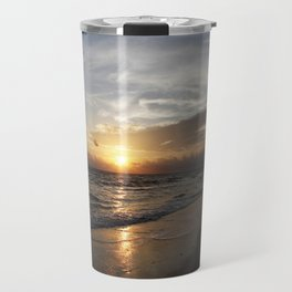 Bonita Beach Sunset Travel Mug