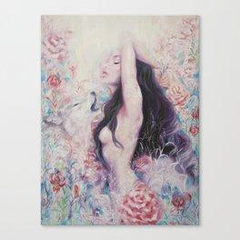 Lightbeams | Rise Canvas Print