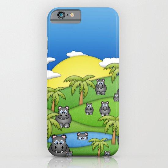 Hippos. iPhone & iPod Case