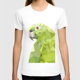 Parrot art Southern mealy amazon parrot T-shirt
