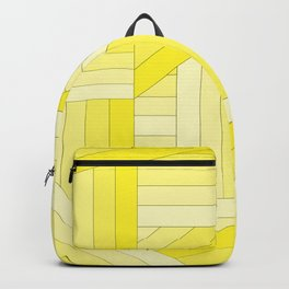 Yellow Stripes Backpack