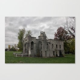 Miller Mausoleum in Holden, Missouri Canvas Print