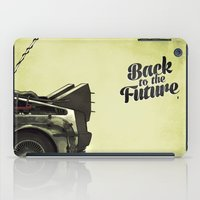 back to the future iPad Cases featuring Back to the future by Duke.Doks
