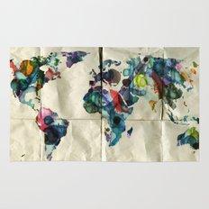 Colorful World Rug