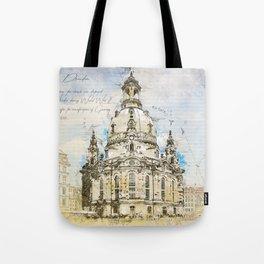 Frauenkirche, Dresden Germany Tote Bag