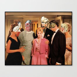 Mask Party Canvas Print