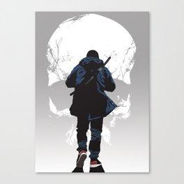 Closer to death Canvas Print
