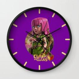 ARCHER,COC Wall Clock
