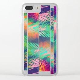 A Zagged Row of Palms [Near Cantor Arts Center] Clear iPhone Case