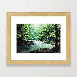 Exuberance Framed Art Print