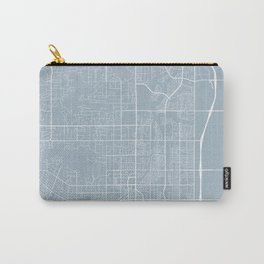 Scottsdale Map, USA - Slate Carry-All Pouch