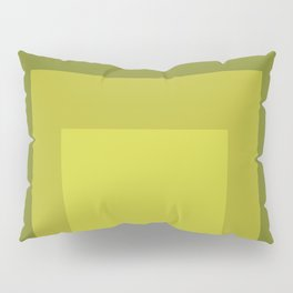 Block Colors - Yellow Green Pillow Sham