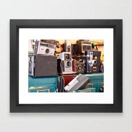 A Shot in Time Framed Art Print