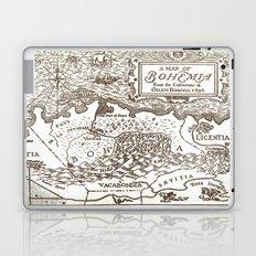 Map of Bohemia Laptop & iPad Skin