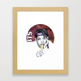 V -BTS- Framed Art Print