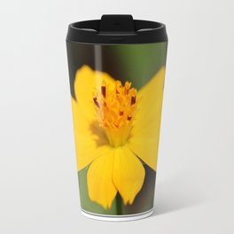 Cosmos Sulphureus named Ladybird Dwarf Lemon Travel Mug