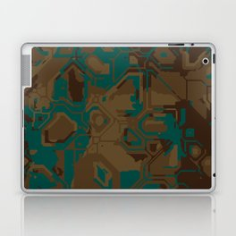 Peacock and Brown Laptop & iPad Skin