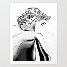 Bends Art Print