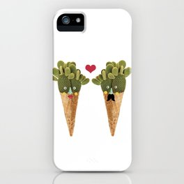 Ms and MR Cactus iPhone Case