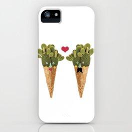 Ms and MR Cactus iPhone Case