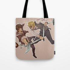 Izaya and Shizuo Tote Bag