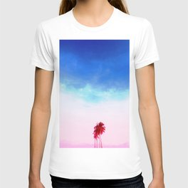 Tropical Coconut Trees #1 T-shirt