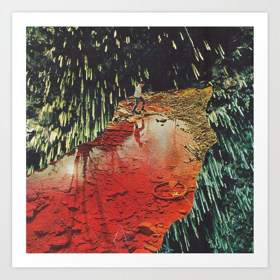 r e c e p t o r s (collaboration with Jesse Treece) Art Print