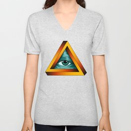 All-seeing Eye Unisex V-Neck