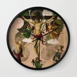Saints Collection -- re-birth Wall Clock