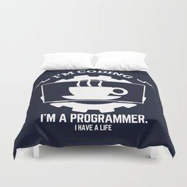 Programmer - I am coding Duvet Cover