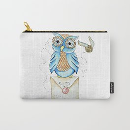 Harry Potter - Hedwig Owl and Golden Snitch Carry-All Pouch