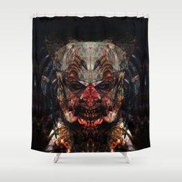 Fuerza Negra Shower Curtain
