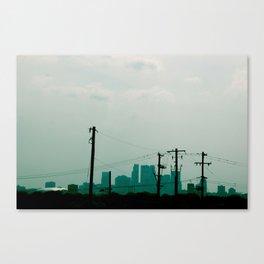 Minneapolis - Blur Canvas Print