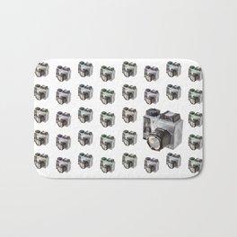 Paper Camera Bath Mat