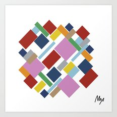 Abstraction #6 Art Print