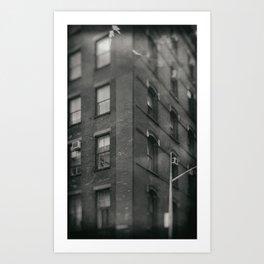 Images of SoHo: Industrial Memory Art Print