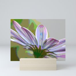 Purple Hints Comic Filter Color Mini Art Print
