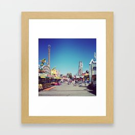 Fair Time Framed Art Print
