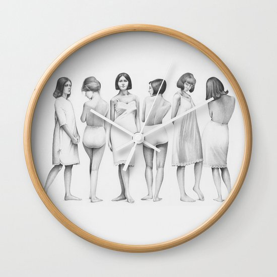 girls Wall Clock