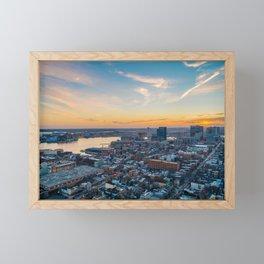 Fells Point Sunset Framed Mini Art Print