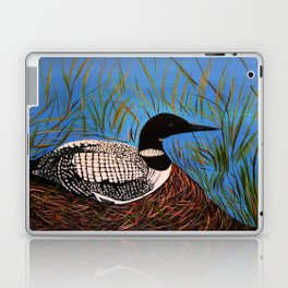 Loon on the Nest  Laptop & iPad Skin