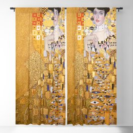Gustav Klimt - The Woman in Gold Blackout Curtain
