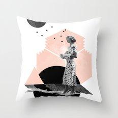 Too Late Throw Pillow