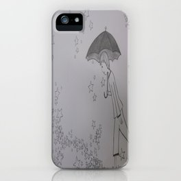 Walking on Stars iPhone Case