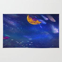 Moon Galaxy Rug