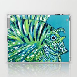Lion Fish 1, a pretty predator Laptop & iPad Skin