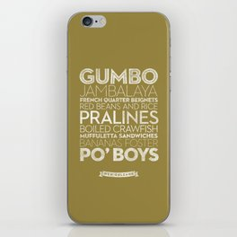 New Orleans — Delicious City Prints iPhone Skin